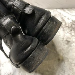 Madewell Shoes - Madewell Rocker Ankle Boots Size 8 Black Leather